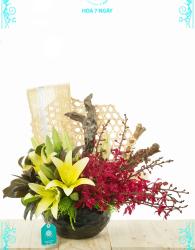 Vase Birthday Flower - xinhtuoi.online