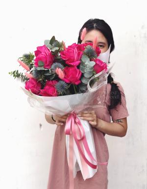 Pink love - D26233 - xinhtuoi.online