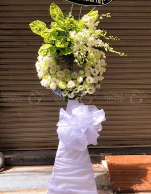 Hoa trắng - D26273 - xinhtuoi.online
