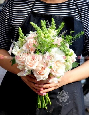 Bouquet Bridal Flower - xinhtuoi.online