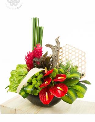 Bình Hoa Khai Trương - xinhtuoi.online
