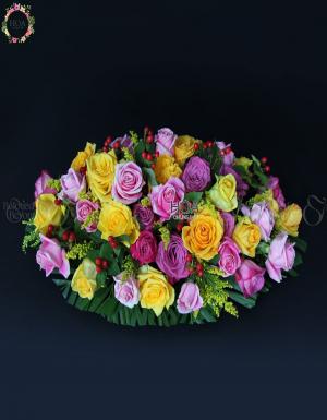 Bình Hoa Chúc Mừng - D75655 - xinhtuoi.online