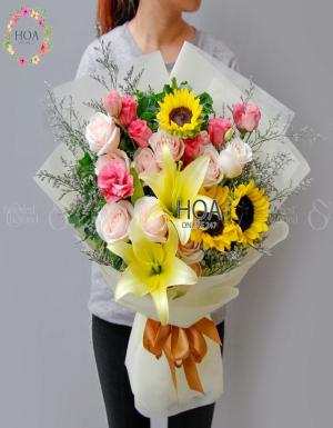 Bó Hoa Sinh Nhật - D140798 - xinhtuoi.online
