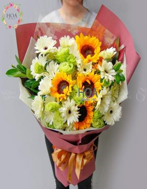 Bó Hoa Sinh Nhật - D112259 - xinhtuoi.online