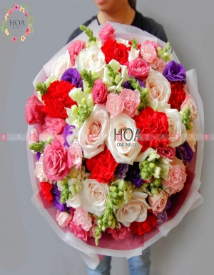 Bó Hoa Sinh Nhật - D140819 - xinhtuoi.online