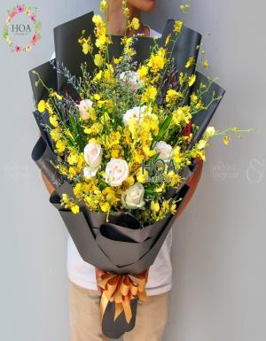 Bó Hoa Chúc Mừng - D178465 - xinhtuoi.online