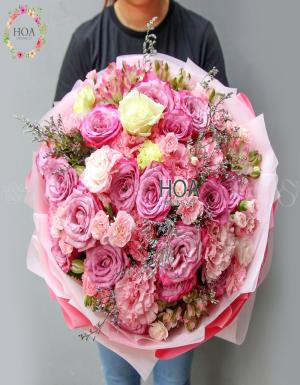 Bó Hoa Sinh Nhật - D178497 - xinhtuoi.online