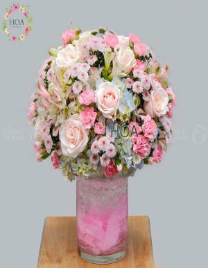 Bình Hoa Sinh Nhật - D178583 - xinhtuoi.online