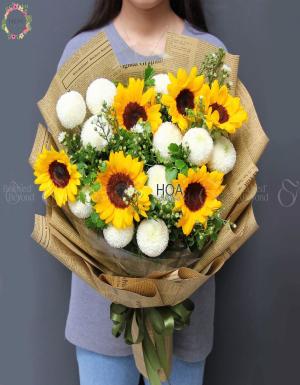Bó Hoa Sinh Nhật - D140878 - xinhtuoi.online