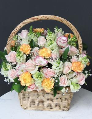 Lẵng Hoa Sinh Nhật - D141109 - xinhtuoi.online