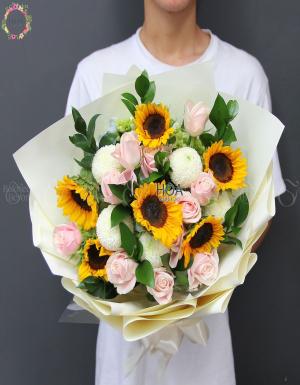Bó Hoa Sinh Nhật - D178699 - xinhtuoi.online