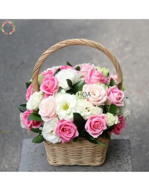 Lẵng Hoa Sinh Nhật - D174562 - xinhtuoi.online