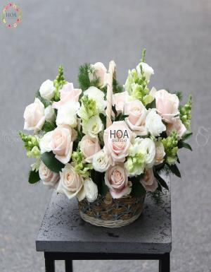 Lẵng Hoa Sinh Nhật - D174609 - xinhtuoi.online