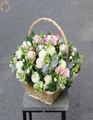 Lẵng Hoa Sinh Nhật - D141239 - xinhtuoi.online