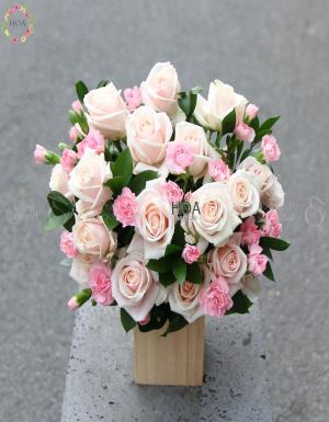 Hộp Hoa Sinh Nhật - D174592 - xinhtuoi.online