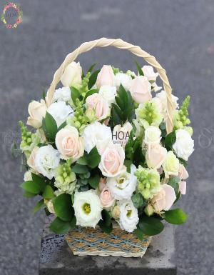Lẵng Hoa Sinh Nhật - D141332 - xinhtuoi.online