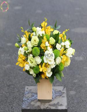 Hộp Hoa Sinh Nhật - D141360 - xinhtuoi.online