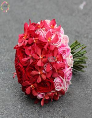 Bouquet Bridal Flower - D112794 - xinhtuoi.online
