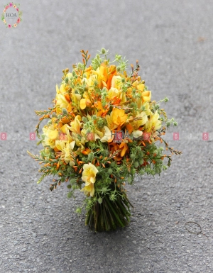 Bouquet Bridal Flower - D112799 - xinhtuoi.online