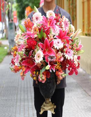 Bình Hoa Chúc Mừng - D141412 - xinhtuoi.online