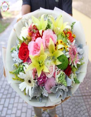 Bó Hoa Sinh Nhật - D141588 - xinhtuoi.online