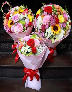 Bó Hoa Sinh Nhật - D176222 - xinhtuoi.online