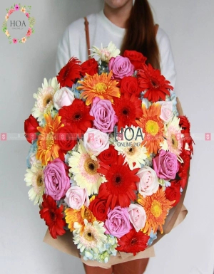 Bouquet Birthday Flower - D176126 - xinhtuoi.online