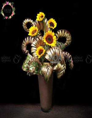 Vase Birthday Flower - D138582 - xinhtuoi.online