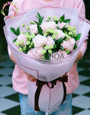 Bó Hoa Sinh Nhật - D180221 - xinhtuoi.online