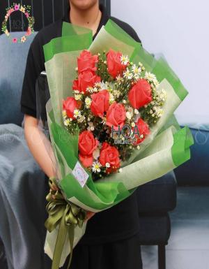 Bó Hoa Sinh Nhật - D176092 - xinhtuoi.online