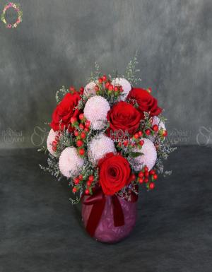 Bình Hoa Chúc Mừng - D176437 - xinhtuoi.online