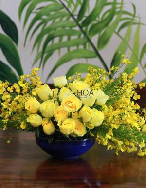 Bình Hoa Chúc Mừng - D142877 - xinhtuoi.online