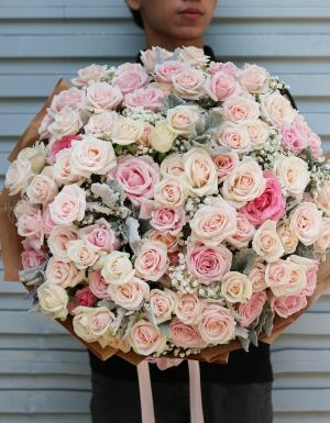 Vase Birthday Flower - D177065 - xinhtuoi.online