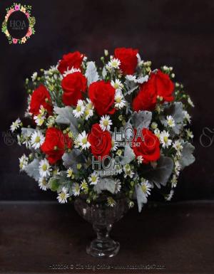 Bình Hoa Sinh Nhật - D142855 - xinhtuoi.online