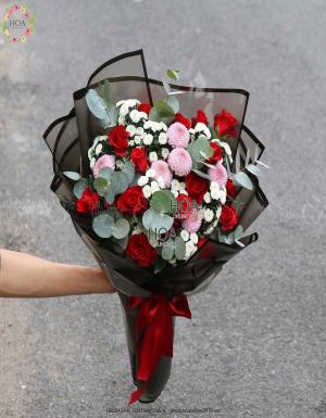 Bó Hoa Sinh Nhật - D112666 - xinhtuoi.online