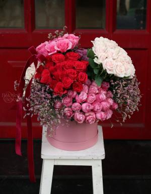 Box Birthday Flower - D177169 - xinhtuoi.online