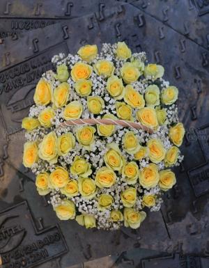 Lẵng Hoa Sinh Nhật - D181494 - xinhtuoi.online