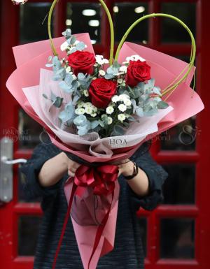 Bó Hoa Quà Tặng - D144728 - xinhtuoi.online
