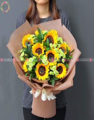 Bouquet Birthday Flower - D140876 - xinhtuoi.online