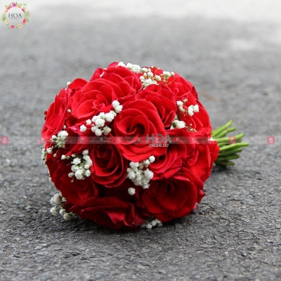 Bouquet Bridal Flower - D196271 - xinhtuoi.online