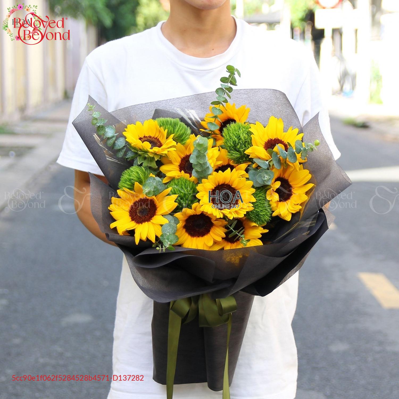Bó Hoa Chúc Mừng - D137282 - xinhtuoi.online