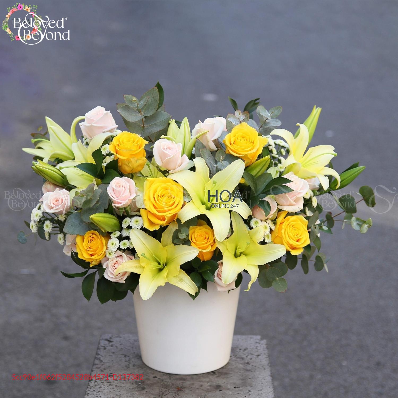 Bình Hoa Chúc Mừng - D137382 - xinhtuoi.online