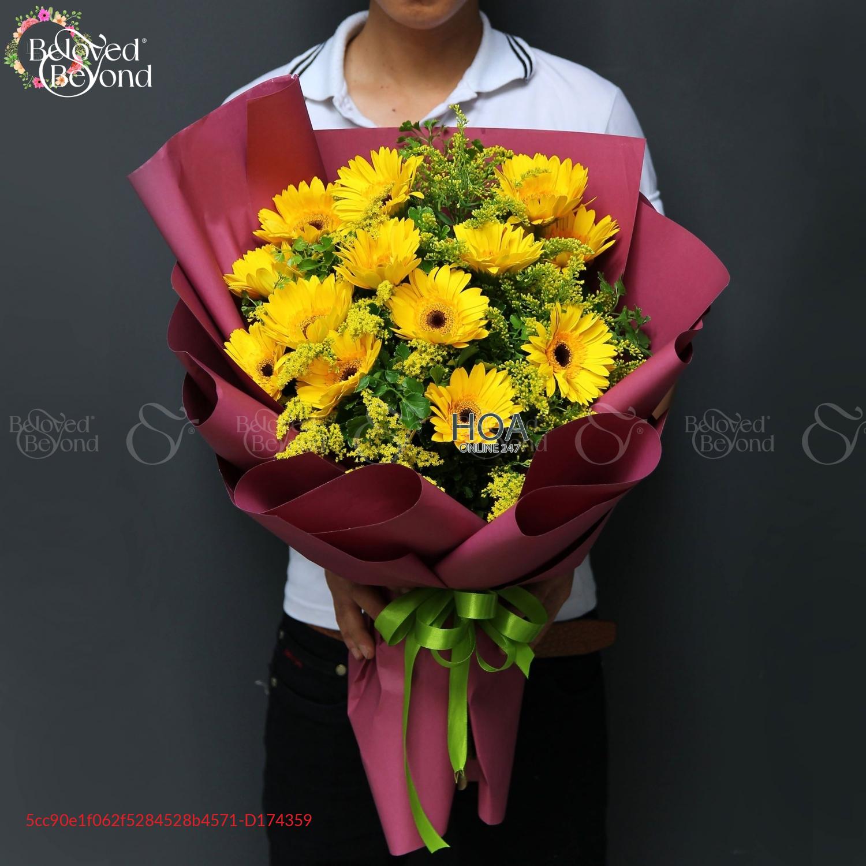 Bó Hoa Chúc Mừng - D174359 - xinhtuoi.online