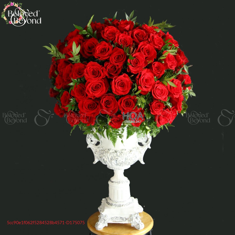Bình Hoa Chúc Mừng - D175075 - xinhtuoi.online