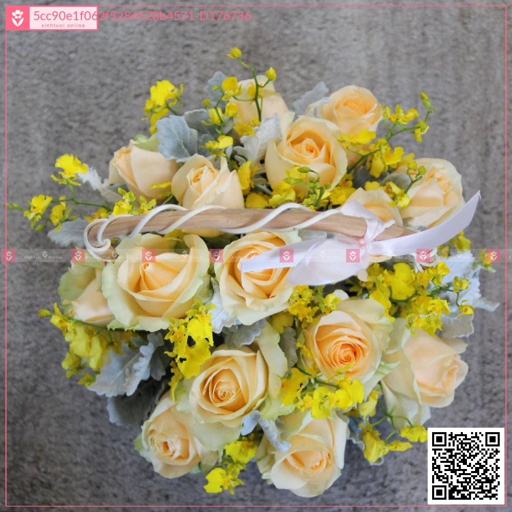 Lẵng Hot Deals - D176736 - xinhtuoi.online