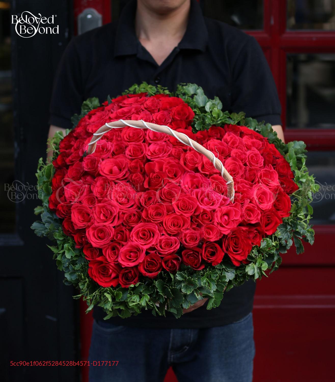 Lẵng Hoa Quà Tặng - D177177 - xinhtuoi.online