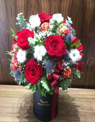 Box Birthday Flower - xinhtuoi.online