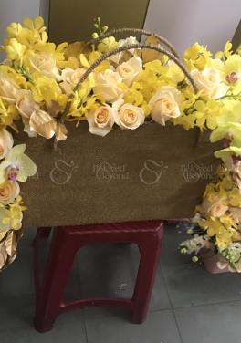Giỏ Hoa Chúc Mừng - xinhtuoi.online