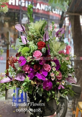 Hộp Hoa Chúc Mừng - xinhtuoi.online
