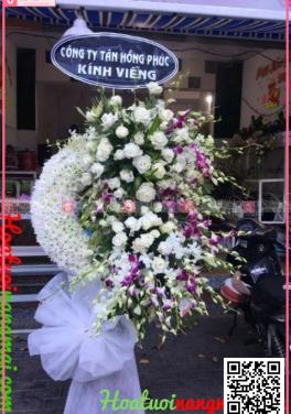 Vòng hoa viếng đám tang KV2005 - D27428 - xinhtuoi.online
